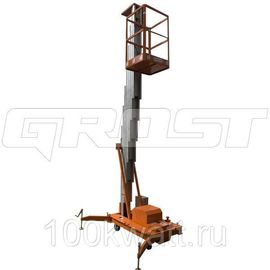 GROST FSD 8.1000 (AC) от сети ( 8000 мм.) Подъемник телескопический
